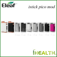 Original Eleaf iStick Pico 75w TC Box Mod Powered by Single ...