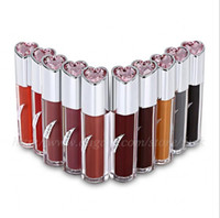 popular pumpkin toner beige lipstick colorful KISS BEAR Matt...