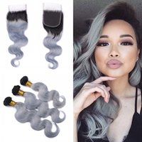 Brazilian Virgin Body Wave Hair Weaves With Closure 4Pcs lot...