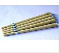 حار بيع شمعة نقية beewax الأذن، غير مقصور العضوية النسيج الشاش، مع قرص واقية موافقة جودة + CE، 1