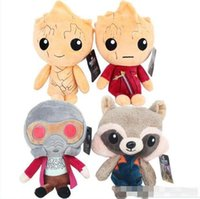 Guardians of the Galaxy Plüschpuppen Guardians of the Galaxy Plüschtiere 22CM Stuffed Kids Toys Weihnachtsgeschenk für Kinder
