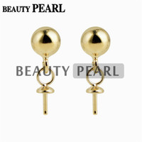 10 Pairs Wholesale Gold Vermeil 925 Sterling Silver Post Stu...