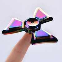 NEWEST Rainbow Fidget Spinner Factory Direct Sales Colorful ...