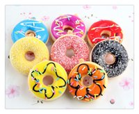 Hot Kawaii New Kids Toys Colorful Donut Squishy Donuts Bread...