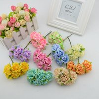 Wholesale- 6pcs   many artificial flowers bud stamens Home F...