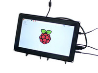 Freeshipping 10.1inch Raspberry Pi 3 Touch Screen Dispaly 10.1inch LCD (h) (com caso) 1024x600