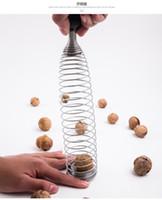 Mandorla di noce di mandorla Bada fracassata e facile da usare artefatto primaverile Clip di filtro a guscio di noce frantumata di noci di macadamia
