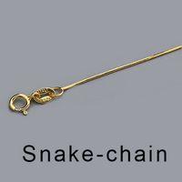 925 Sterling Silver Fina 0.7mm Chain Colar Colar para Meninas Presente Gold / Rosa Banhado A Ouro 16 '18' Cadeiras Cadeiras Colar Atacado