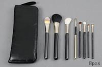 2017 Nueva calidad de buena calidad MEJOR MEJOR VENTA VENTA Cepillo de maquillaje 8 PCS Set + Pouch Professional Brush