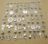 Diy Antique Silver Jewelry accessories Many Mixed Style Big ...