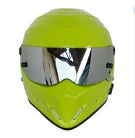 2017 New Windproof Casco moto integrale MOTO GP Racing casco FRP Stig Car capacete Verde