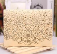 2017 heißer verkauf Großhandel Personalisierte Hochzeitseinladungskarten, danke karten weiß rot einladung wed karten mit modernen designs