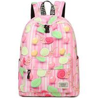 Конфеты улитка рюкзак сладкие улитки рюкзак каракули печати школьный случайный рюкзак Спорт мешок школы Открытый день пакет