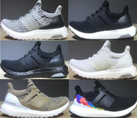 Wholesale 2018 Ultraboost 3. 0 Triple Black Running Shoes Men...