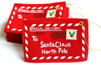 New Christmas envelops from Santa Claus for Christmas tree d...