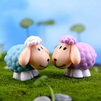 Mini Cute Long Ears Sheep DIY Material Cake Doll Accessories...