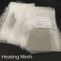 Heating Coils Heating Net Nickel Mesh For RDA 316 L Stainles...