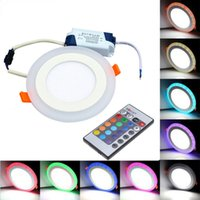 2018 Newest led rgb downlights recessed ceiling lights 6w 9w...