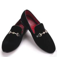 Piergitar yeni stil kadife erkek ayakkabıları, erkek ayakkabıları, erkek elbise ayakkabı, ayakkabı terlik