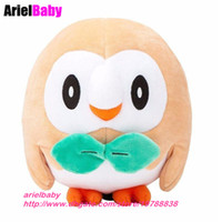 New Rowlet Toy Animal Soft Stuffed Plush Dolls Kids Gift 15c...