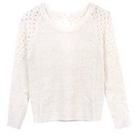Venda por grosso de Camisola De Outono Para Mulheres Mistura De Lã Quente Para Mulheres Pulôver De Malha Camisolas E Pulôveres exterior para mulheres