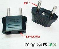 범용 미국 AU EU하려면 EU 플러그 미국, 유로, 유럽 여행 벽 AC 전원 충전기 콘센트 어댑터 컨버터 2 라운드 소켓 핀
