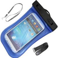 Akıllı Telefon için Evrensel Temizle Su Geçirmez Kılıfı Kılıf Su Geçirmez Çanta Sualtı Kapak Cep Telefonu Samsung Galaxy S6 Not 4