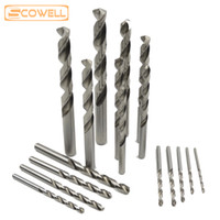 22Pcs Mixed Pack High Speed Steel M2 Straight Shank Twist Dr...