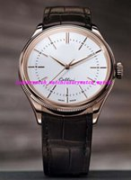Luxury Wristwatch Time 50505 Automatic 39mm Rose Gold White ...