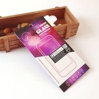 프리미엄 강화 유리 9H 화면 보호기 포장 도매 빈 소매 패키지 종이 상자 소니 아이폰 삼성
