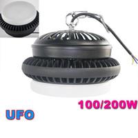 2017 Hot 50W 100W 150W 200W UFO High Bay Led Leuchten IP44 LED-Tankstelle Beleuchtung AC 85-265V SAA UL-Zulassung