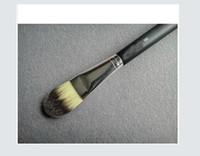Livraison gratuite Nouveau pinceaux de maquillage Foundation Brush 190 Brush avec un sac en plastique! (2pcs / lot)
