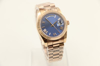 18 ct Rose gold DAYDATE 40mm self- winding mechanical movemen...