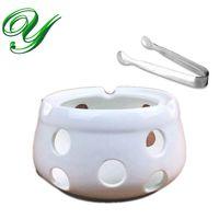 Керамический чайник теплее база tealight подсвечник фарфор сыр фондю шоколад плавления стенд шведский стол кофе te аксессуары