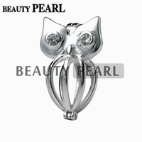 5 Pieces Owl Cage 925 Sterling Silver Pendant Gift Love Wish...