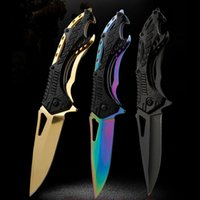 Outdoor Knife Folding Knife Camping Wild Survival High Hardn...