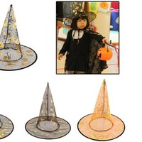 Pumpkin hat a Halloween party wizard hat witch hat pointed r...