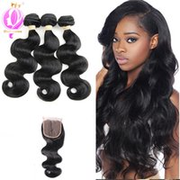 Unprocessed Brazilian Virgin Human Hair Body Wave Weave Pack...