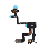 Flex Cable cinta Botón Calidad de alimentación del sensor de proximidad de alta luz para el iPhone 4 4G 4S 4GS