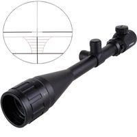 2017 NIEUWE 6-24X50 AOE RIFLESCOPE RG Verlichte Riflescope Reticle Sniper Scope voor Hunting Scope Gratis verzending
