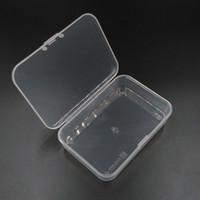 Boîte de rangement d'équipement de voyage MINI n ° 5 Plastique (PP) pour stocker des pièces électroniques métalliques artisanales, des accessoires de bijoux à coudre, etc.
