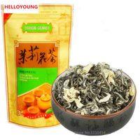 50г Китайский Organic Ранняя весна жасмин Maofeng Ароматический зеленый чай Health Care Сырье Чай Новый Ароматизированный чай Зеленый еды