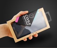 200 adet Özel Perakende için kağıt ambalaj Paketi ambalaj kutusu samsung galaxy s6 için iphone 6 durumda telefon kılıfları