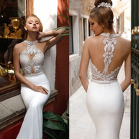 2017 Beaded Wedding Dresses Sexy Back Mermaid Wedding Dress ...