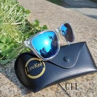 2018 NEW TOP العلامة التجارية تصميم الرجال النظارات الشمسية النظارات شفافة النساء العدسات اللون شعار العلامة التجارية التغليف الأصلي بالجملة
