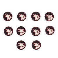 Волчья голова патчи для одежды железа моды вышивка патч для одежды аппликация швейные аксессуары значок на одежду железа на патчи