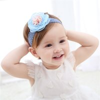 Trendy Lace 3D Flower Baby Girls Headband Birthday Boutique ...