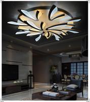 Новое прибытие современные светодиодные потолочные светильники скрытого монтажа потолок lifor гостиная спальня акриловые светодиодные люстры потолочный светильник домашнего освещения светильник