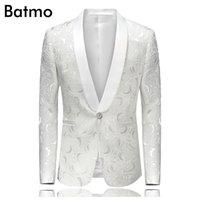Atacado 2016 New autumnwinter chegada impressa de Homens Blazer Casual Blazer Para Homens Blazer Discotecas terno Homens Plus Size M-3XL