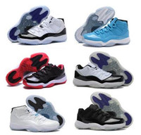 BRED 11s Space Jam 11s Bred Gamma Blue Uomo Donna 11s Concords 72-10 Legend Blue Cool Grigio Sneakers Scarpe da basket con scatola